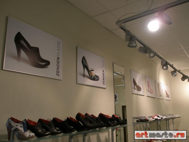 Фасадные вывески для магазина обуви Zenden в Пензе фото ... f238ca22ea1